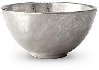L'OBJET Alchimie De Venise Earthenware Platinum-Finish Cereal Bowl