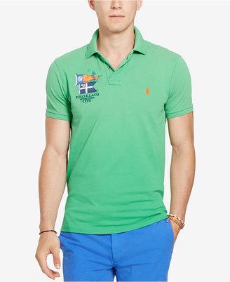 Polo Ralph Lauren Men's Custom-Fit Cotton Polo $98.50 thestylecure.com