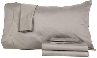 Asstd National Brand PerthshireTM Platinum 410tc Cotton Sateen 6-pc. Sheet Set