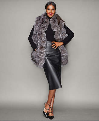 The Fur Vault Fox Fur Ruffled Stole $1,495 thestylecure.com