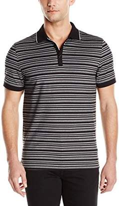 Calvin Klein Men's Short Sleeve Cotton Fashion Polo Shirt