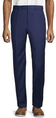 Calvin Klein Classic Flat-Front Pants