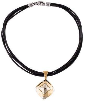 Bvlgari 18K Piramide Necklace