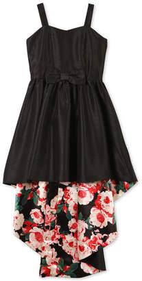 Speechless Big Girls Satin High-Low Dress