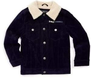 Urban Republic Baby Boy's Faux Fur-Collar Trucker Jacket