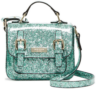 kate spade new york Scout Glitter Satchel (Girls) $128 thestylecure.com