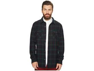 Original Penguin Plaid Wool Blend Unlined Jacket Men's Coat