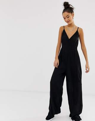 Noisy May wrap jumpsuit