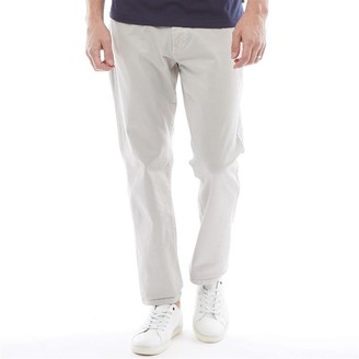 6918ca6eafe0 French Connection Mens 5 Pocket Chinos Stone