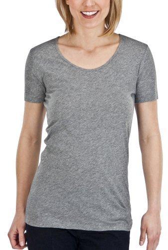Mossimo® Women's Short Sleeve Tissue Tee - Medium Heather Gray