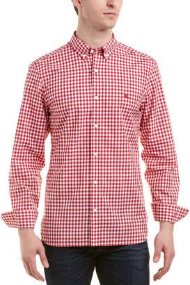 Burberry Gingham Button-Down Cotton Shirt