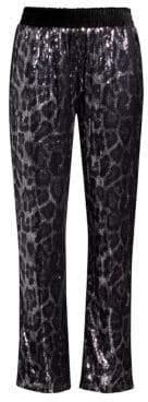 RtA Ash Leopard Sequin Pants