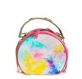 Simitri Designs - Globe Hand Painted Drum Bag
