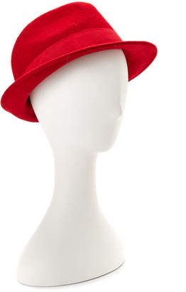 San Diego Hat Company San Diego Hat Co. Women's Wool Red Fedora