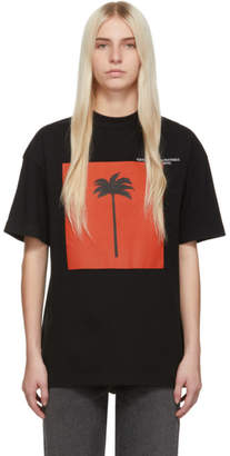Palm Angels SSENSE Exclusive Black Big Palm x Palm T-Shirt