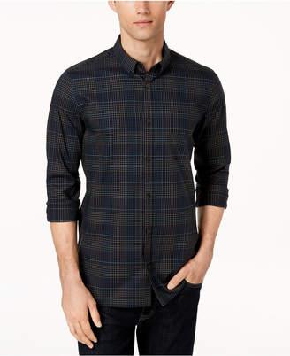 Calvin Klein Men's Infinite Cool Yarn-Dyed Plaid Shirt