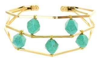 Panacea Turquoise Stone Cuff