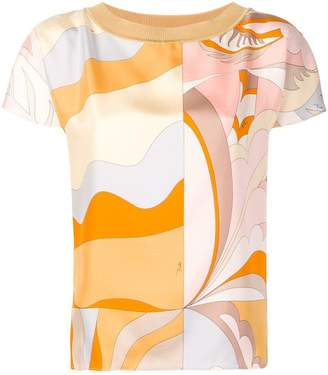 Emilio Pucci printed front top