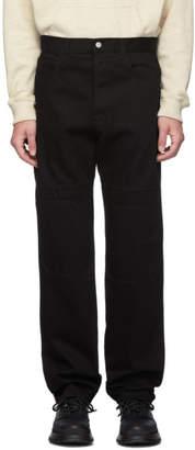 J.W.Anderson Black Low Pocket Jeans