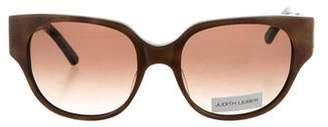Judith Leiber Tortoiseshell Embellished Sunglasses