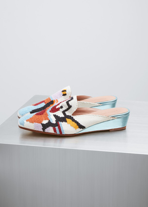 Rachel Comey eyes needlepoint embroidery wald $495 thestylecure.com