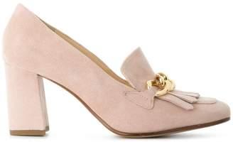 Högl fringed heeled pumps