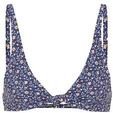 Tory Burch Palma printed bikini top