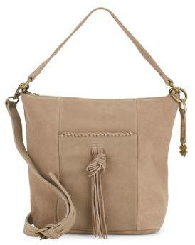 Crossbody Leather Shoulder Bag $188 thestylecure.com