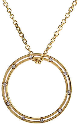 Damiani 18K Yellow Gold .18 Ct. Tw. Diamond Necklace