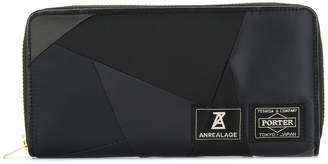 Anrealage patchwork wallet