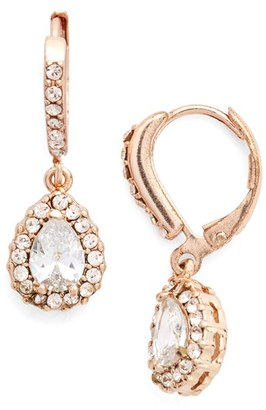 Women's Givenchy Teardrop Crystal Earrings $42 thestylecure.com