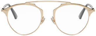Christian Dior Gold So Real Optical Glasses