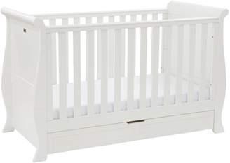 Silver Cross Nostalgia Sleigh Cot Bed
