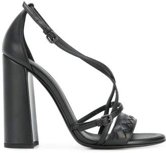 Bottega Veneta Intrecciato heeled sandals