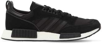 adidas Boston Super Rx1 Nylon & Suede Sneakers