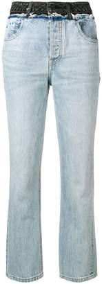 Alexander Wang x Denim boyfriend jeans