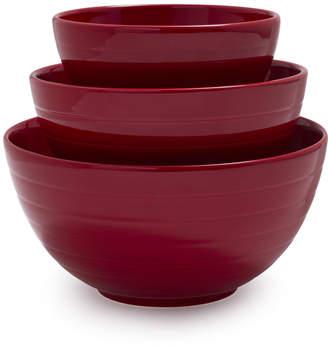 Sur La Table White Ceramic Mixing Bowls