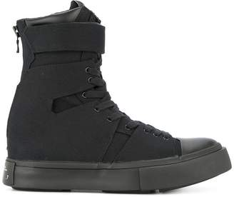 Julius strapped hi-to sneakers
