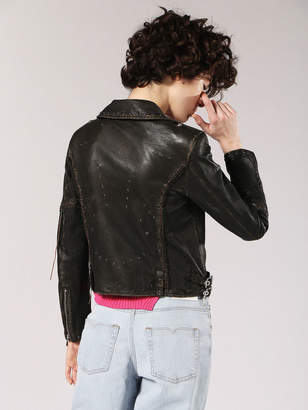 Diesel Leather jackets 0TASI - Black - L