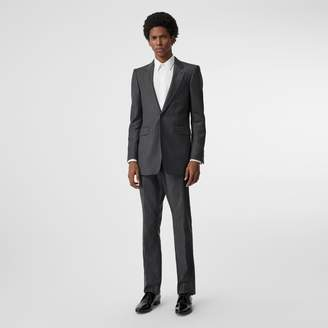Burberry Slim Fit Pinstriped Wool Cashmere Suit