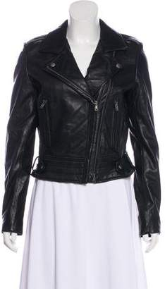 Linea Pelle Leather Moto Jacket