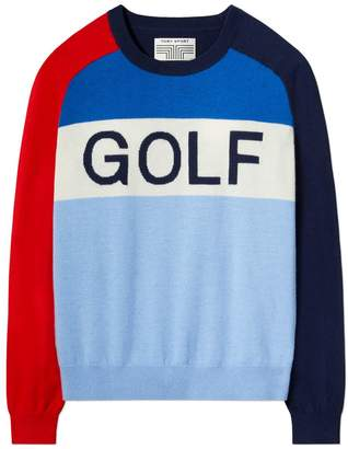 Tory Sport CASHMERE GOLF SWEATER