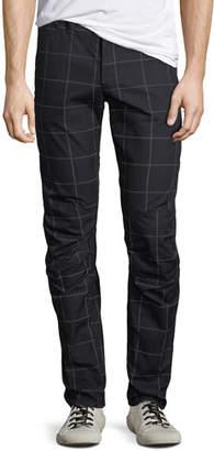 G Star G-Star Men's 3D Tapered Grid-Print Pants