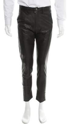 Deveaux Leather Skinny Pants w/ Tags