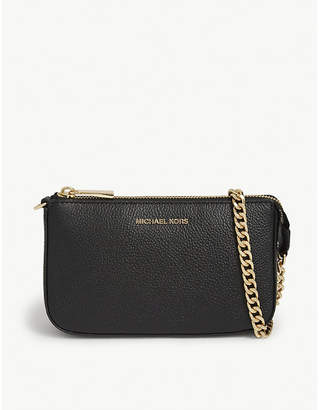 MICHAEL Michael Kors Textured leather chain wallet