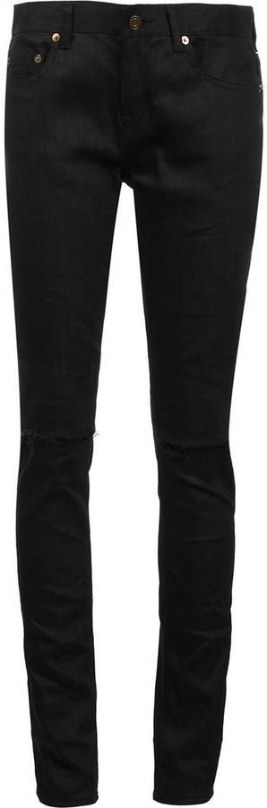 Saint LaurentSaint Laurent low rise skinny jeans