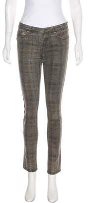 Haute Hippie Mid-Rise Skinny Jeans