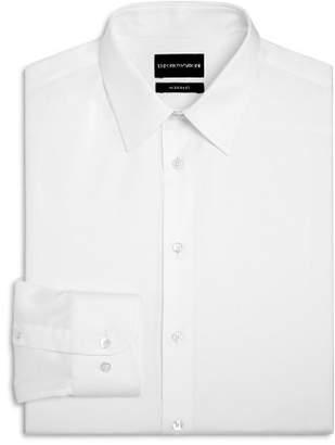 Giorgio Armani Twill Basic Regular Fit Dress Shirt