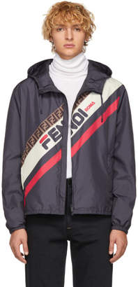 Fendi Navy Mania Jacket