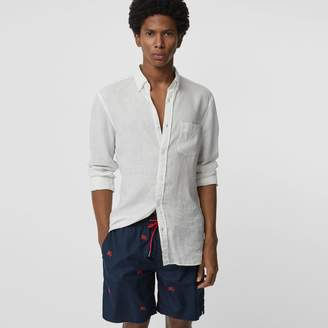 Burberry Archive Logo Drawcord Swim Shorts